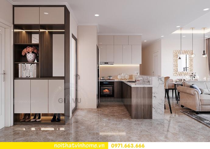thiết kế nội thất căn hộ Vinhomes D Capitale tòa C6 CH09 nhà anh Kim 01