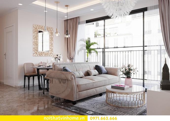 thiết kế nội thất căn hộ Vinhomes D Capitale tòa C6 CH09 nhà anh Kim 04