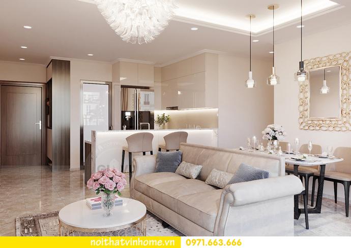thiết kế nội thất căn hộ Vinhomes D Capitale tòa C6 CH09 nhà anh Kim 05