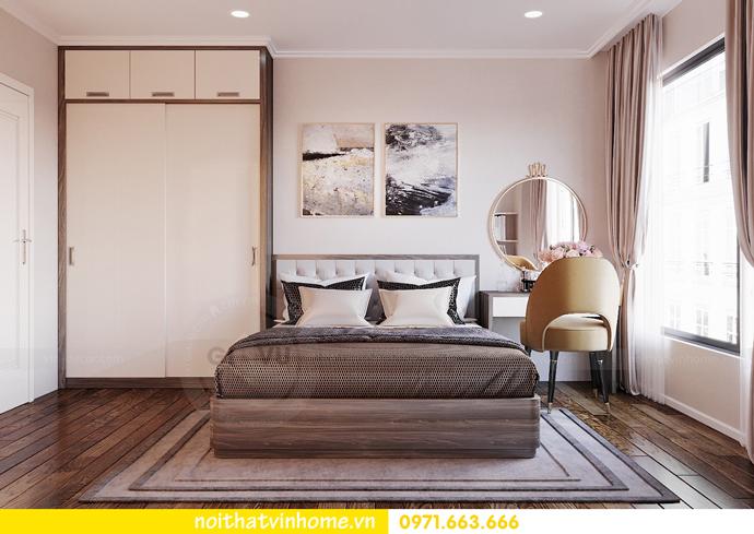 thiết kế nội thất căn hộ Vinhomes D Capitale tòa C6 CH09 nhà anh Kim 07