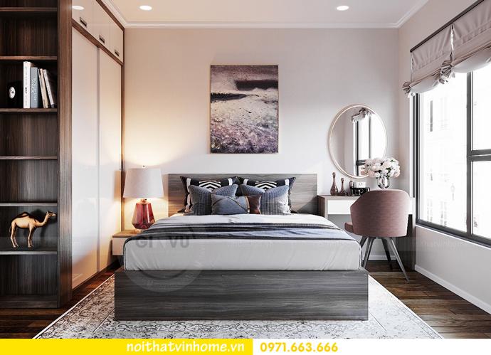 thiết kế nội thất căn hộ Vinhomes D Capitale tòa C6 CH09 nhà anh Kim 09