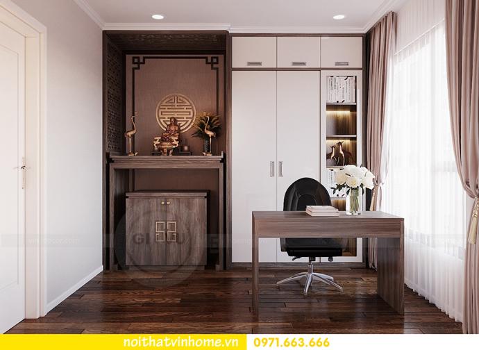 thiết kế nội thất căn hộ Vinhomes D Capitale tòa C6 CH09 nhà anh Kim 10