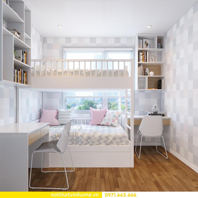 thiết kế nội thất chung cư 60m2 D Capitale nhà chị Hà 11