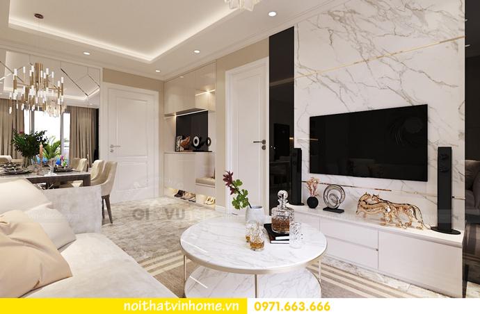 thiết kế nội thất chung cư DCapitale tòa C7 căn 06 anh Trường 03