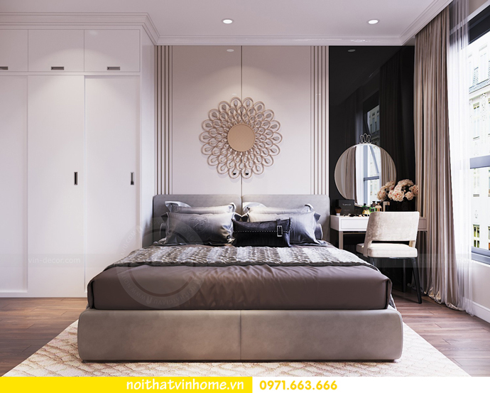 thiết kế nội thất chung cư DCapitale tòa C7 căn 06 anh Trường 05