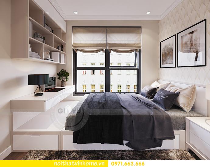 thiết kế nội thất chung cư DCapitale tòa C7 căn 06 anh Trường 07