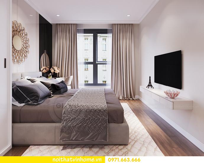thiết kế nội thất chung cư DCapitale tòa C7 căn 06 anh Trường 08