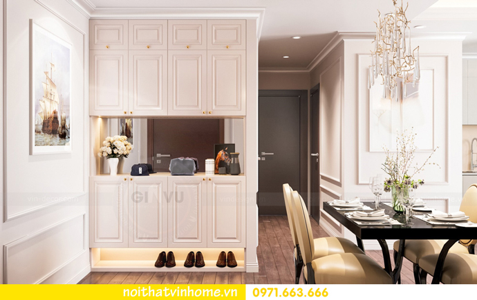thiết kế nội thất nhà đẹp tại chung cư Vinhomes Skylake tòa S1 căn 08A 01