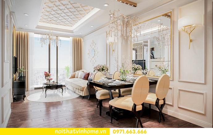 thiết kế nội thất nhà đẹp tại chung cư Vinhomes Skylake tòa S1 căn 08A 02