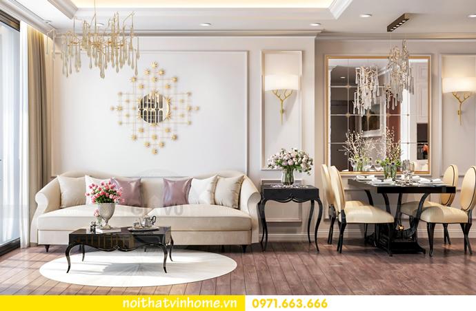 thiết kế nội thất nhà đẹp tại chung cư Vinhomes Skylake tòa S1 căn 08A 03