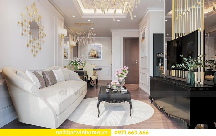 thiết kế nội thất nhà đẹp tại chung cư Vinhomes Skylake tòa S1 căn 08A 04