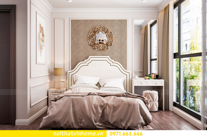 thiết kế nội thất nhà đẹp tại chung cư Vinhomes Skylake tòa S1 căn 08A 06