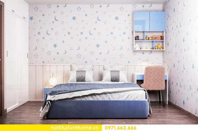thiết kế nội thất nhà đẹp tại chung cư Vinhomes Skylake tòa S1 căn 08A 07