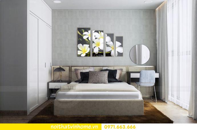 thiết kế nội thất tại chung cư Sky Lake tòa S1 căn 01 nhà chị Vân 11