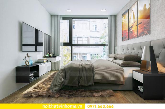 thiết kế nội thất tại chung cư Sky Lake tòa S1 căn 01 nhà chị Vân 6