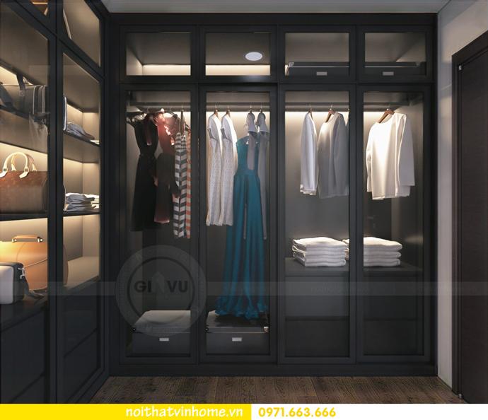 thiết kế nội thất tại chung cư Sky Lake tòa S1 căn 01 nhà chị Vân 7
