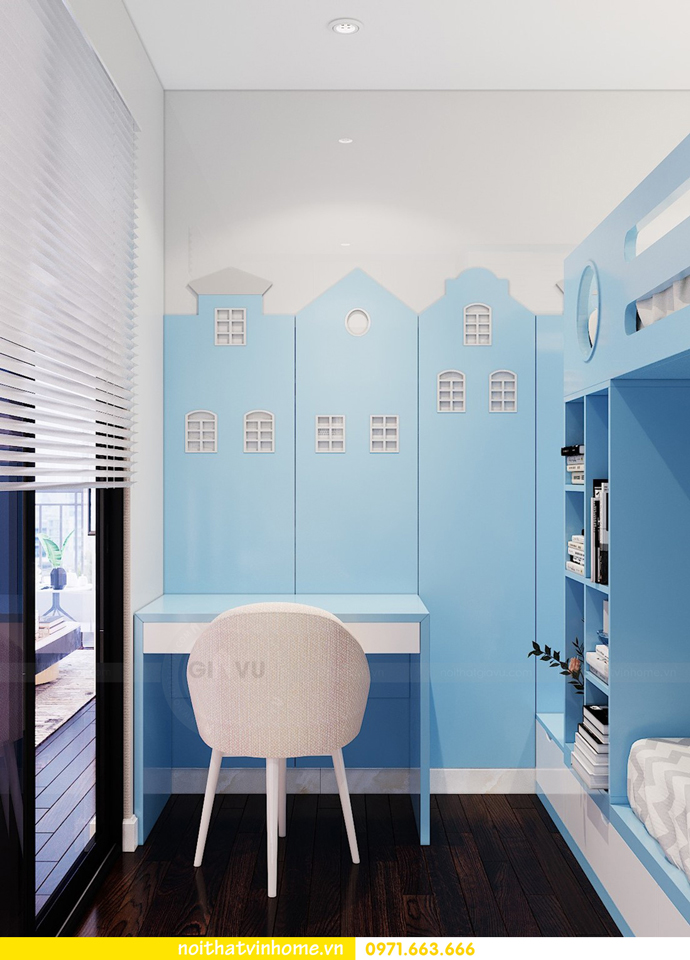 thiết kế thi công nội thất chung cư Sunshine Riverside nhà chị Hà 10