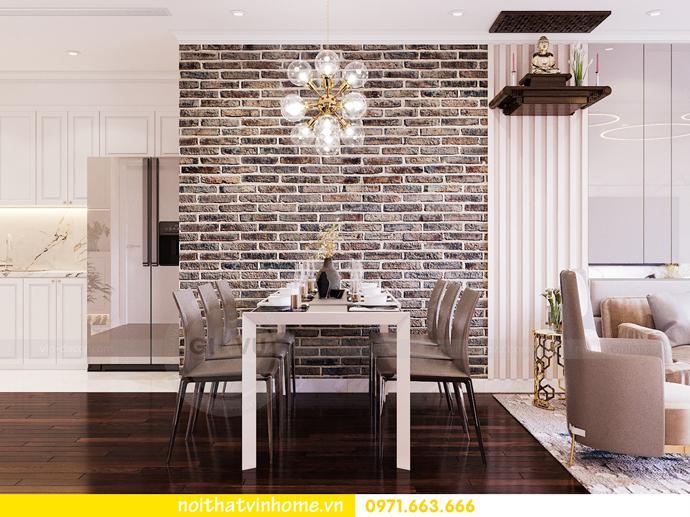 thiết kế thi công nội thất chung cư Sunshine Riverside nhà chị Hà 4