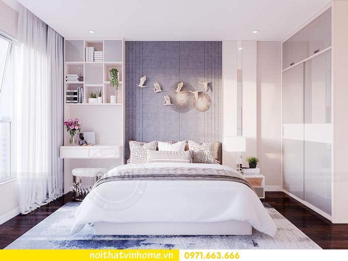 thiết kế thi công nội thất chung cư Sunshine Riverside nhà chị Hà 6