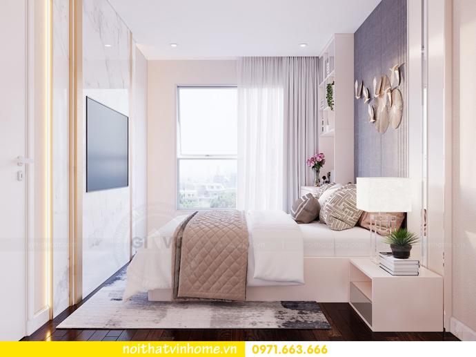 thiết kế thi công nội thất chung cư Sunshine Riverside nhà chị Hà 7