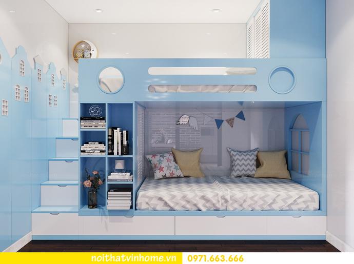 thiết kế thi công nội thất chung cư Sunshine Riverside nhà chị Hà 8