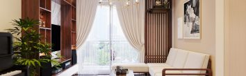 thiết kế thi công nội thất tại chung cư Skylake sang trọng ấn tượng