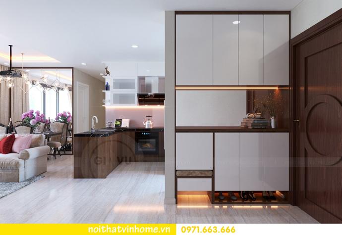 ý tưởng thiết kế nội thất chung cư DCapitale tòa C3 căn 09 chị Huyền 01