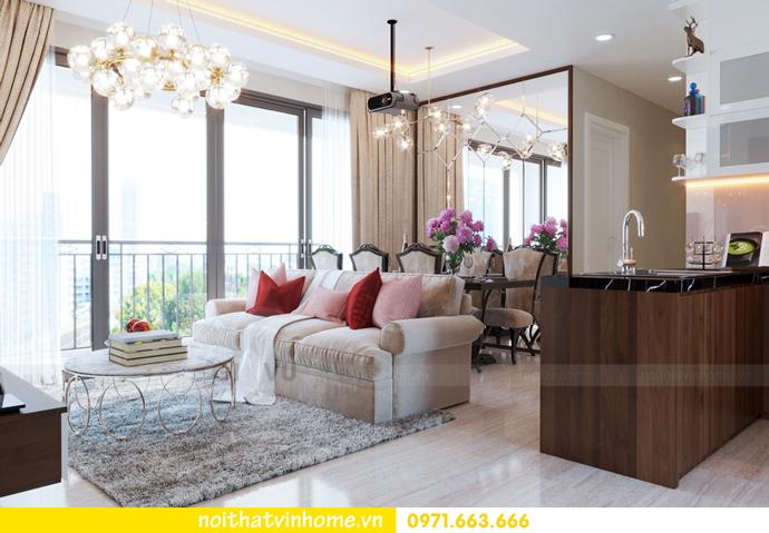 ý tưởng thiết kế nội thất chung cư DCapitale tòa C3 căn 09 chị Huyền 03