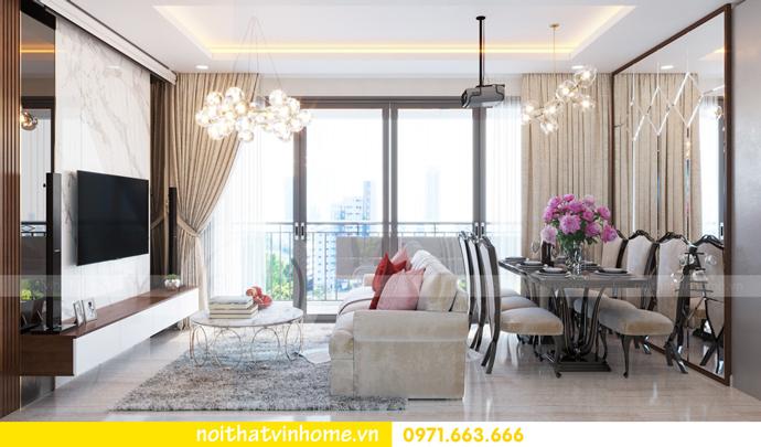 ý tưởng thiết kế nội thất chung cư DCapitale tòa C3 căn 09 chị Huyền 04