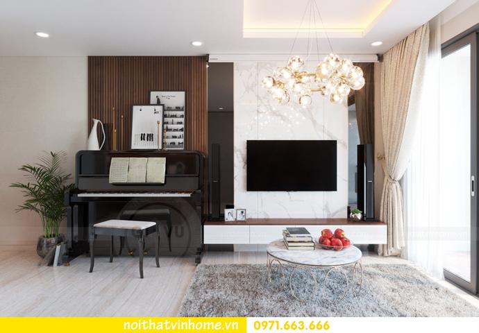ý tưởng thiết kế nội thất chung cư DCapitale tòa C3 căn 09 chị Huyền 05