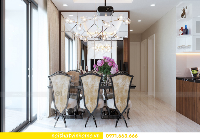 ý tưởng thiết kế nội thất chung cư DCapitale tòa C3 căn 09 chị Huyền 06
