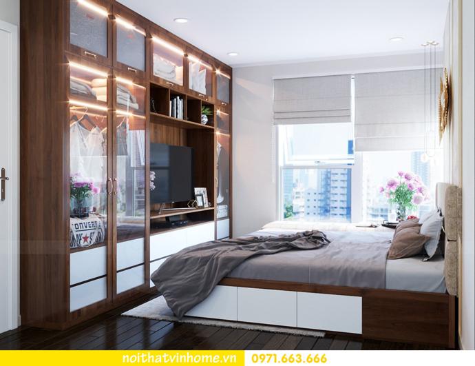 ý tưởng thiết kế nội thất chung cư DCapitale tòa C3 căn 09 chị Huyền 07