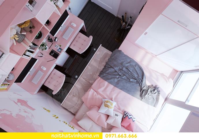 ý tưởng thiết kế nội thất chung cư DCapitale tòa C3 căn 09 chị Huyền 10