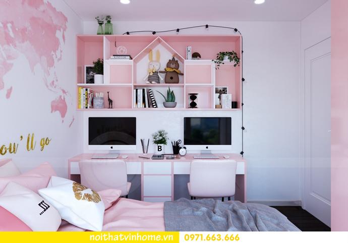 ý tưởng thiết kế nội thất chung cư DCapitale tòa C3 căn 09 chị Huyền 12