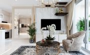 hình ảnh thiết kế nội thất chung cư DCapitale tòa C3 căn 05