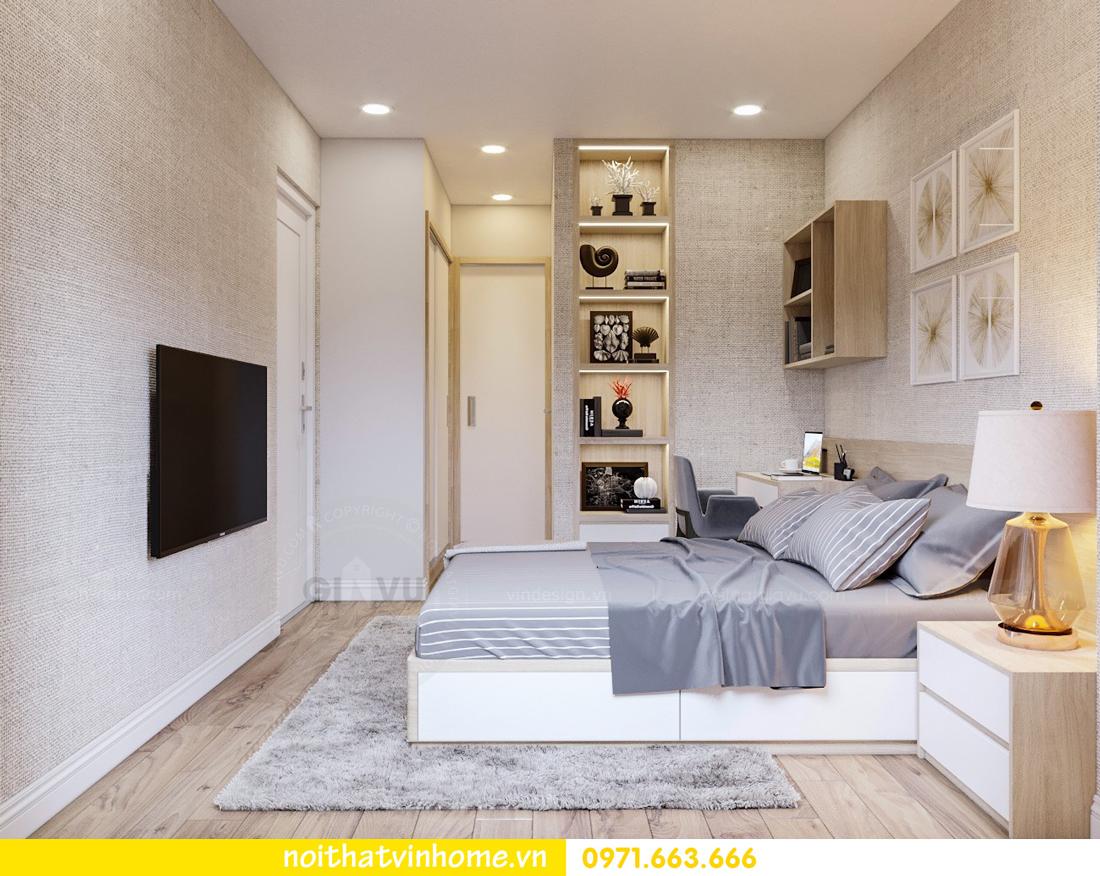 nội thất Vinhomes Skylake 2 phòng ngủ hiện đại 05