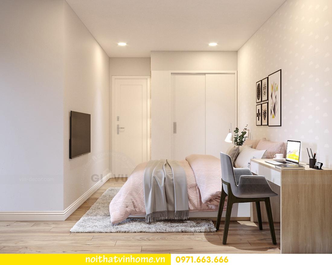 nội thất Vinhomes Skylake 2 phòng ngủ hiện đại 07