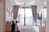 thiết kế nội thất căn hộ Vinhomes DCapitale nhà cô Minh
