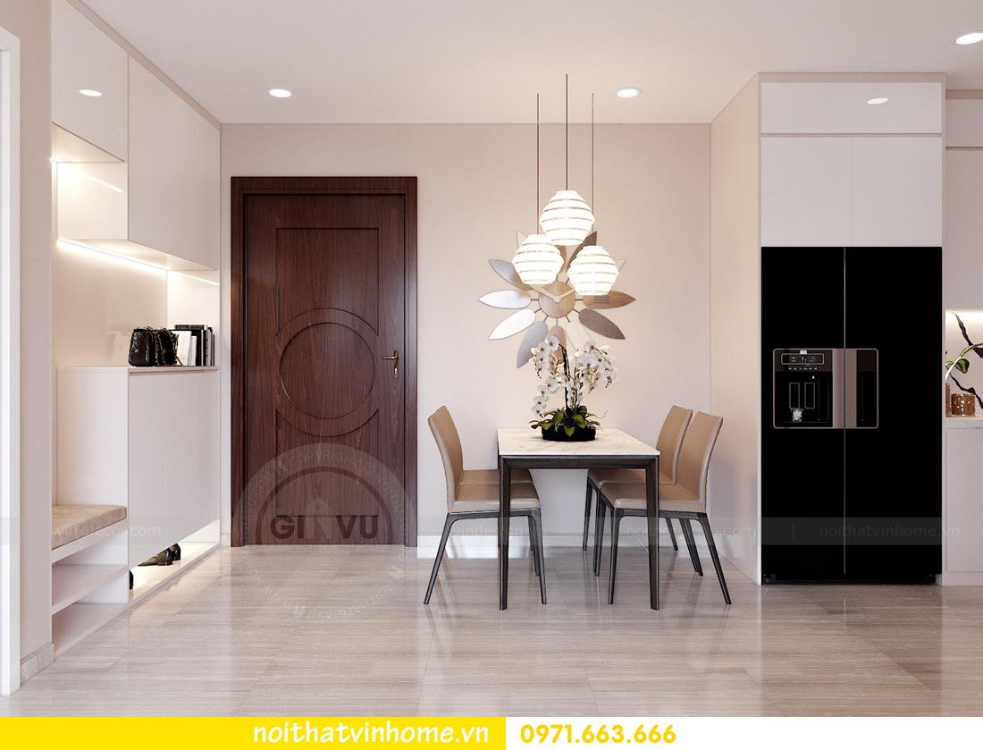 thiết kế nội thất căn hộ Vinhomes DCapitale tòa C7 căn 01 nhà chị Minh 01