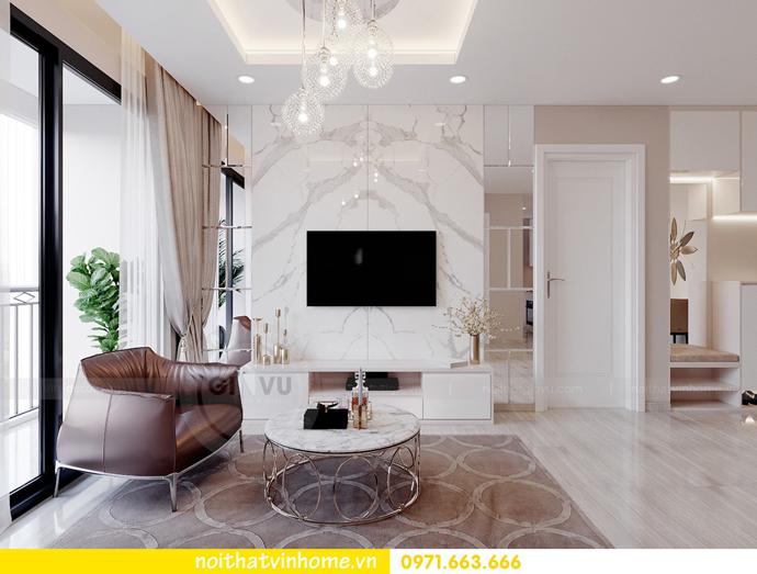 thiết kế nội thất căn hộ Vinhomes DCapitale tòa C7 căn 01 nhà chị Minh 04