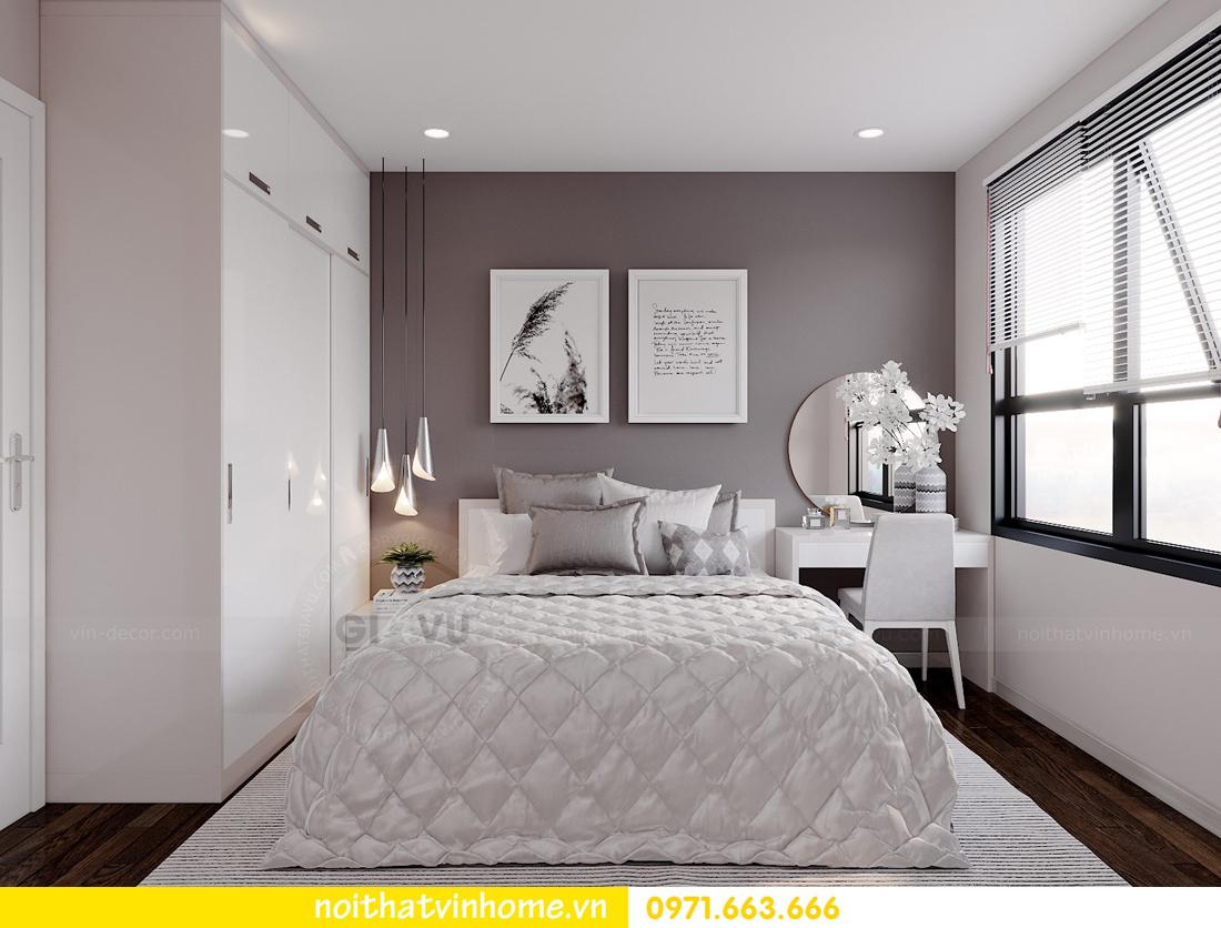 thiết kế nội thất căn hộ Vinhomes DCapitale tòa C7 căn 01 nhà chị Minh 07