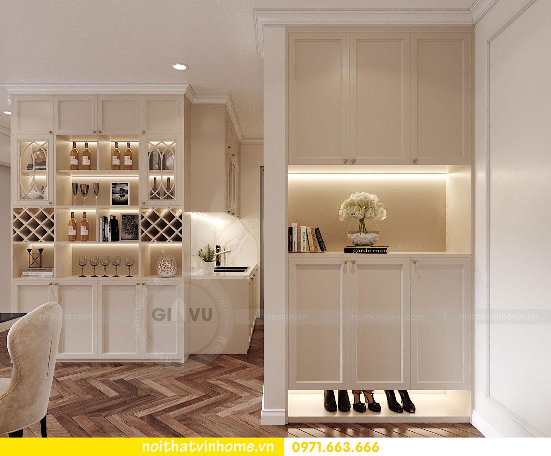 thiết kế nội thất chung cư DCapitale 3 phòng ngủ C7 căn 12 1