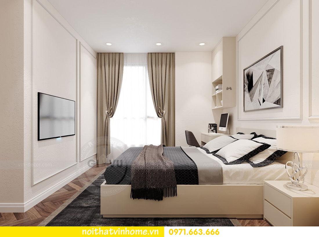 thiết kế nội thất chung cư DCapitale 3 phòng ngủ C7 căn 12 10