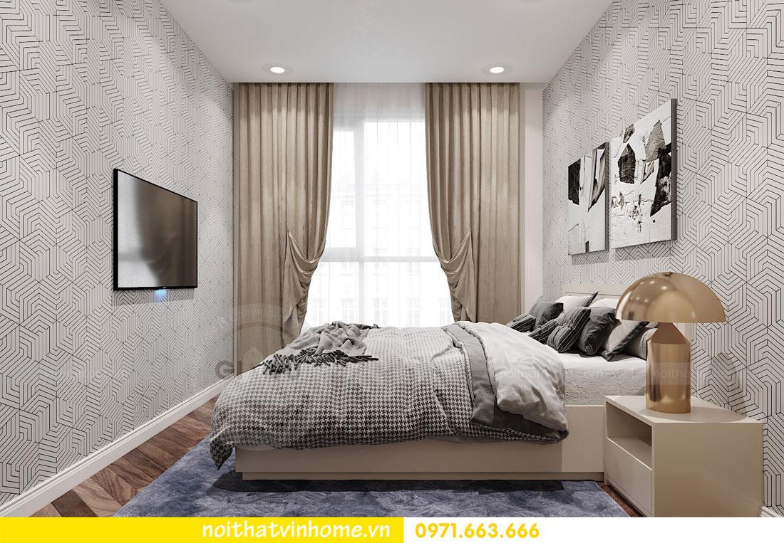 thiết kế nội thất chung cư DCapitale 3 phòng ngủ C7 căn 12 11