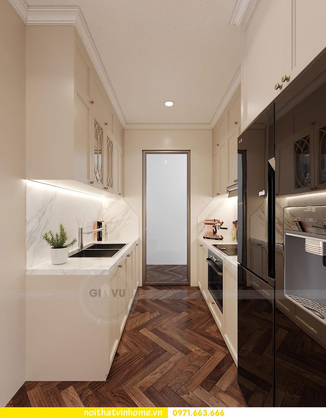thiết kế nội thất chung cư DCapitale 3 phòng ngủ C7 căn 12 6