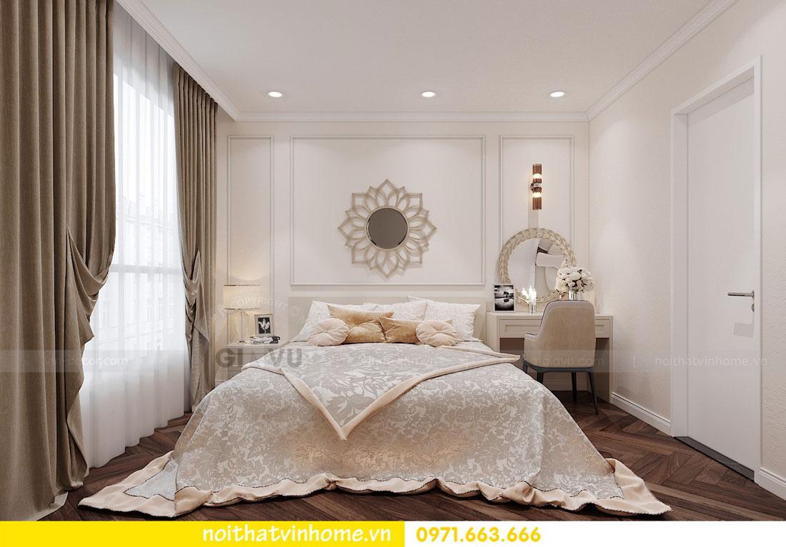 thiết kế nội thất chung cư DCapitale 3 phòng ngủ C7 căn 12 7