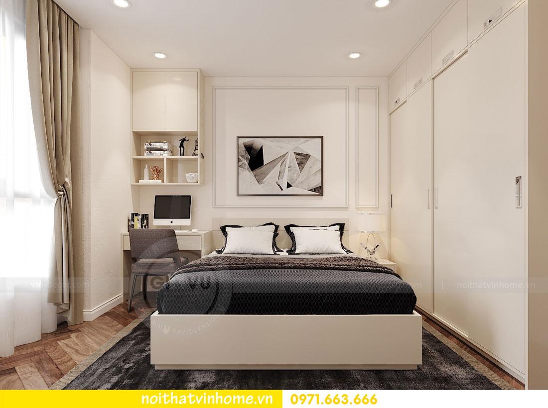 thiết kế nội thất chung cư DCapitale 3 phòng ngủ C7 căn 12 9