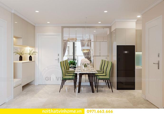 thiết kế nội thất chung cư DCapitale tòa C6 căn 05 nhà chị Nụ 01