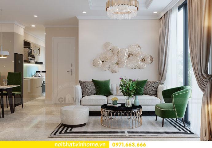 thiết kế nội thất chung cư DCapitale tòa C6 căn 05 nhà chị Nụ 04