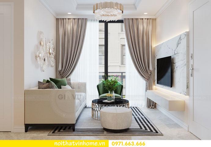 thiết kế nội thất chung cư DCapitale tòa C6 căn 05 nhà chị Nụ 05
